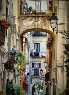 Historical centre of #Salerno.. #bedandbreakfast #travel #viaggiare #italy