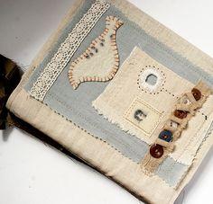 Art Quilt Bird Journal (margie) by Rebecca Sower, via Flickr