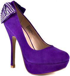 Steve Madden Parfait - Purple Suede