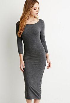 Classic Midi Dress | Forever 21 - 2000157077