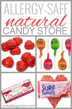 Natural Allergy-Friendly Candy for Valentine's Day, Shipped Right to Your Door.