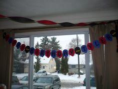 DIY Ninjago Banner - Jace's 8th Birthday