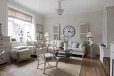 lovely french country living room