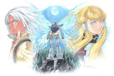 Turn A Gundam: Loran, Dianna and the Butterfly by Nick-Ian
