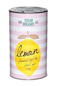 Lemon flavored iced tea drink mix.