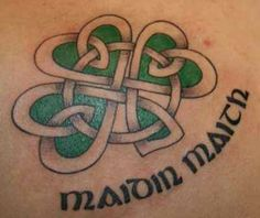 Image detail for -Go Forward from Celtic Clover Tattoos to Celtic Knot Tattoos