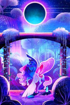 MLP: Luna's Royal Garden