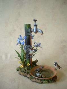 Beth Freeman-Kane, M.A.A. - Wildlife Miniaturist - this is so gorgeous