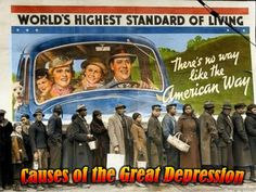Download Includes:-Causes of the Great Depression highly visual PPT-Bell Ringer prompt-Checking for Understanding questions-Fill in Notes