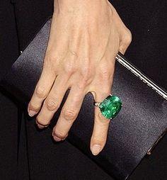 Angiolina emerald ring