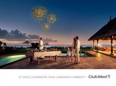 Club Med 2013 Ad - Fireworks