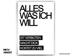 Typo Print von claus-peter