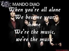 Dance With Somebody - Mando Diao + Lyrics + HQ http://www.youtube.com/watch?v=fGPwyT2KA30