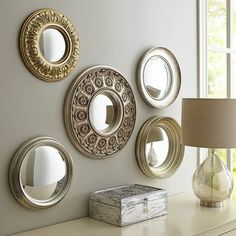 Round Collage Mirrors at Pier1 Imports