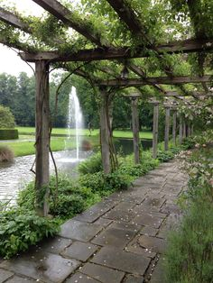 Gardens Great Fosters, Wedding Venues, Arch, Sidewalk, Gardens, Outdoor Structures, Plants, Wedding Reception Venues, Wedding Places