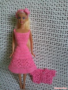 Новые наряды для куклы Барби - часть 3