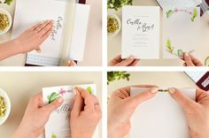 Vellum is making a comeback! Using this semi-transparent paper will give your DIY wedding invitations a beautifully light and airy look. It's budget friendly and easy to print on with most home printers. Pair vellum with additional paper …
