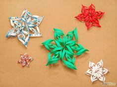 Kerst 3D Paper Snowflake