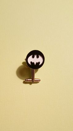 Custom Listing Acrylic Batman Cuff links with by 1TheCherryOnTop