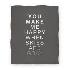 You Make Me Happy (SUNSHINE) Blanket