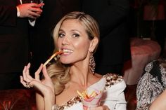 Heidi Klum. Los looks de la 'after party' de los Globos de Oro