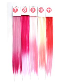"""19"""" Clip in Ombre Remy Hair Piece Extensions"""