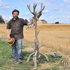 Faux Bois - Coat Rack - Fred Bross'Art - 10
