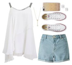 """Untitled #262"" by anzheli55ka on Polyvore featuring Brunello Cucinelli, Miss Selfridge, Converse, EF Collection and Casetify"