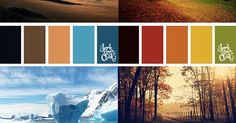 25 Color Palettes Inspired by Beautiful Landscapes   Beautiful, Beautiful landscapes and Nature