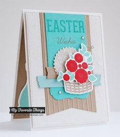 Easter Bunny, Blueprints 13 Die-namics, Easter Bunny Die-namics - Inge Groot #mftstamps