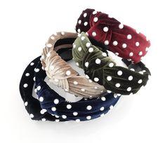 faux pearl decorated velvet fashion headband for women Head Wrap Headband, Pearl Headband, Diy Headband, Winter Headbands, Headbands For Women, Diy Hair Accessories, Fashion Accessories, Wedding Accessories, Fabric Headbands