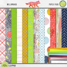 Willamahoo Paper Pack Amy Wolff