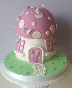 Magical Mushroom Cake