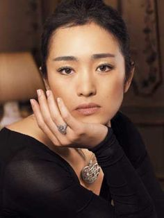 Chinese movie star Gong Li. Absolutely stunning beauty.