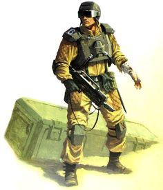 Imperial Guard - Warhammer 40k - Astra Militarum - Elysian Drop Troops