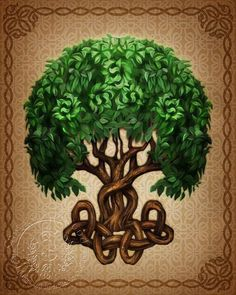 Tree of life aka Yggdrasil.  This is my next tattoo idea on thigh or outer thigh.