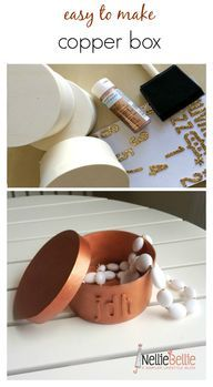 Turn a $1 wooden box