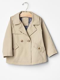 Gap Trench swing coat