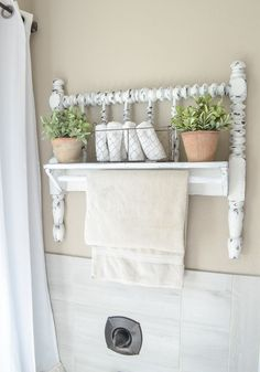 Another Way to Upcycle a Bedrail
