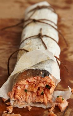 Salmon Roulade Recipe