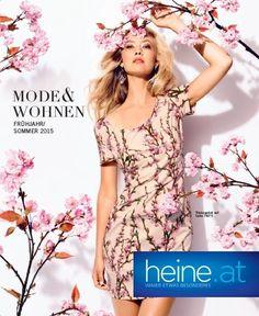 Zarte Farben, glänzende Stoffe, grafische Muster – entdecken Sie bei Heine die aktuellen Modetrends oft sogar bis Größe 52. Eine