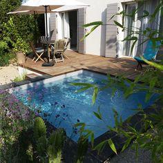 Gardening Design Diy, Small Backyard, Front Door Plants, Pool Hot Tub, Garden Design, Dream Pools, Mini Pool, Water Features In The Garden, Dream Garden