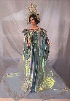 "Turandot from the Opera ""Turandot"" - a Porcelain Doll"