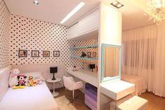 Resultado de imagem para quartos com parede de bolinhas pretas
