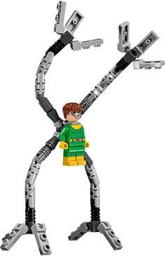 LEGO Marvel Super Heroes DOC OCK MINIFIGURE AUTHENTIC NEW w/ Tentacles 76059 #LEGO