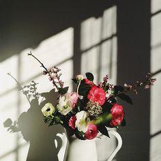 easter morning flowers / @sweetthingblog on instagram.