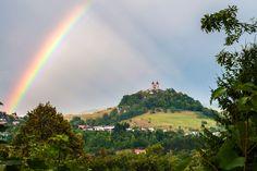 Rainbow, Štiavnické vrchy, Slovakia