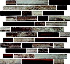 Daltile Tiger Eye Malayan Mosaic from SouthCypress.com.
