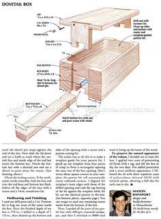 Puzzle Box Plans - Woodworking Plans