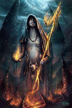 Sorcerer by Francisco Garces